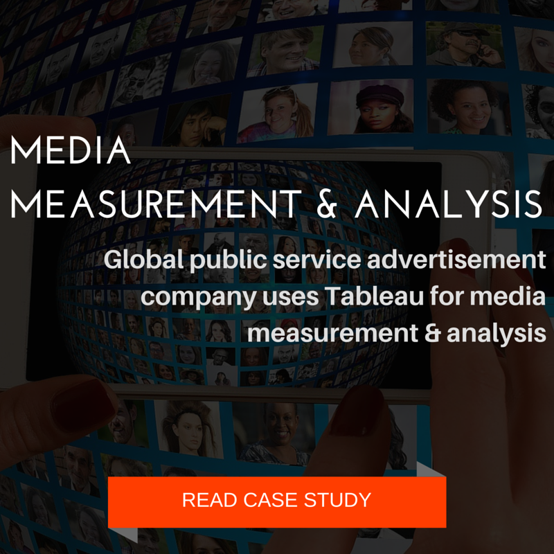 Media Measurement and Analytics using Tableau