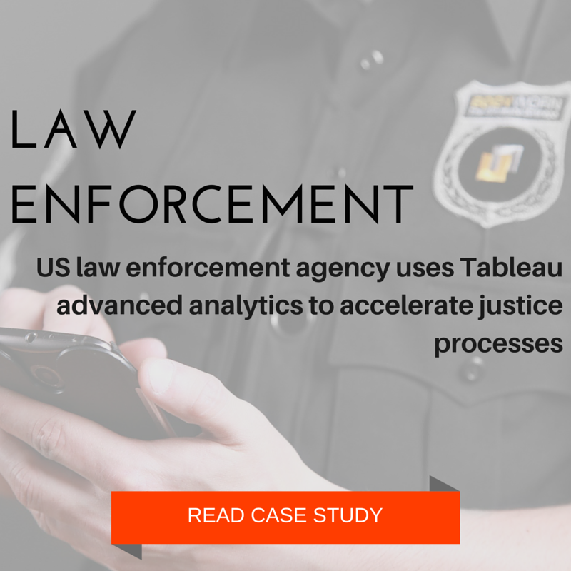 Law Enforcement BI and Analytics using Tableau