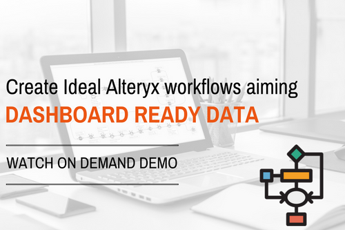 Ideal Alteryx workflows for Tableau - Demo