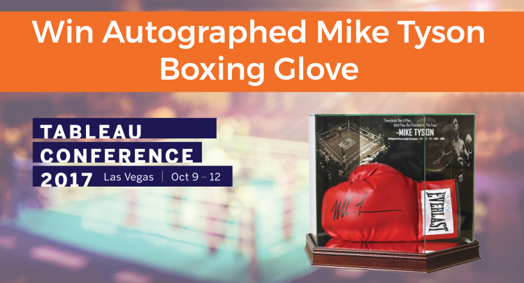 Mike Tyson Autographed Glove