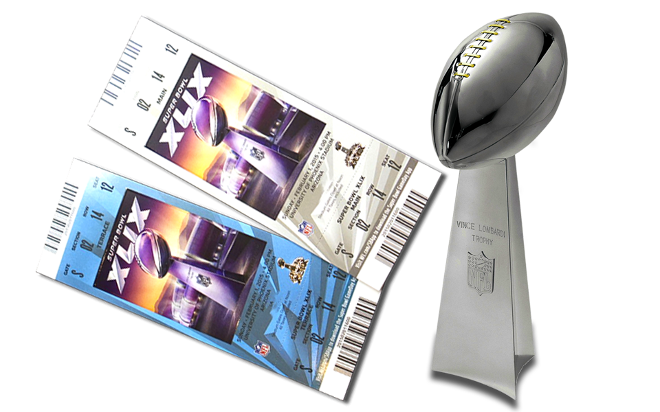 Win 2 Tickets to the Super Bowl Tickets
