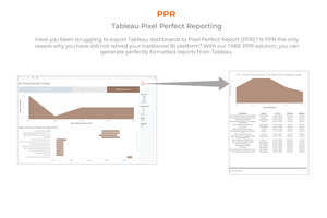 Tableau Pixel Perfect Reporting - February 21, 2019