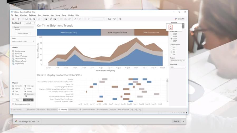 Tableau Embedded Analytics - Apr 16, 2019