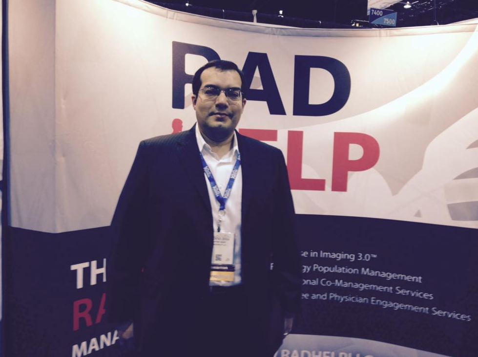 Dr. Zaidi CEO of RadHelp