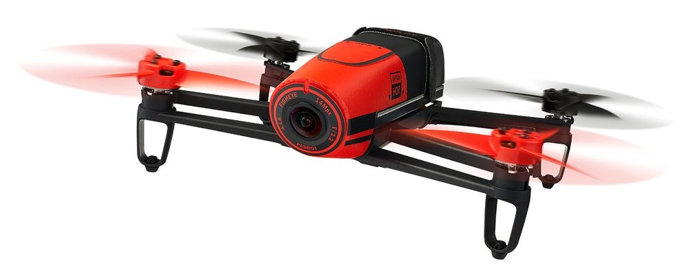 Parrot Bebop Drone,  $978    Who doesn't need a drone in 2016? The Parrot Bebop Drone sports built-in GPS, a 14 megapixel fisheye lense, 3-axes image stabilization, and is piloted from a handy iOS or Android app.    Amazon