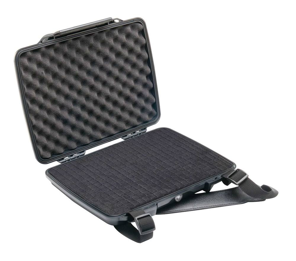 Pelican Waterproof Laptop Cases  ,  $200-300    Take the stress out of transporting delicate electronic equipment such as laptop computers in the field. Pelican's well known waterproof cases are lined with soft foam and come in a wide range of shapes and sizes.  Pelican