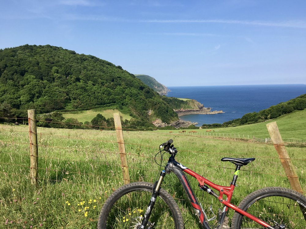 biking southwest England