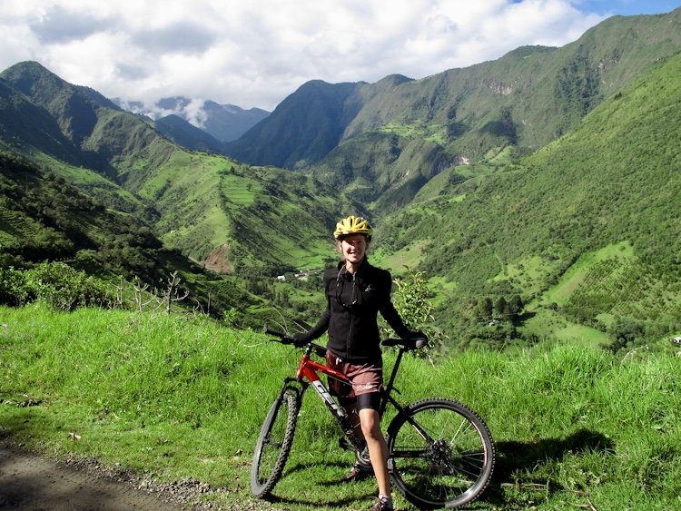 Biking Through Ecuador