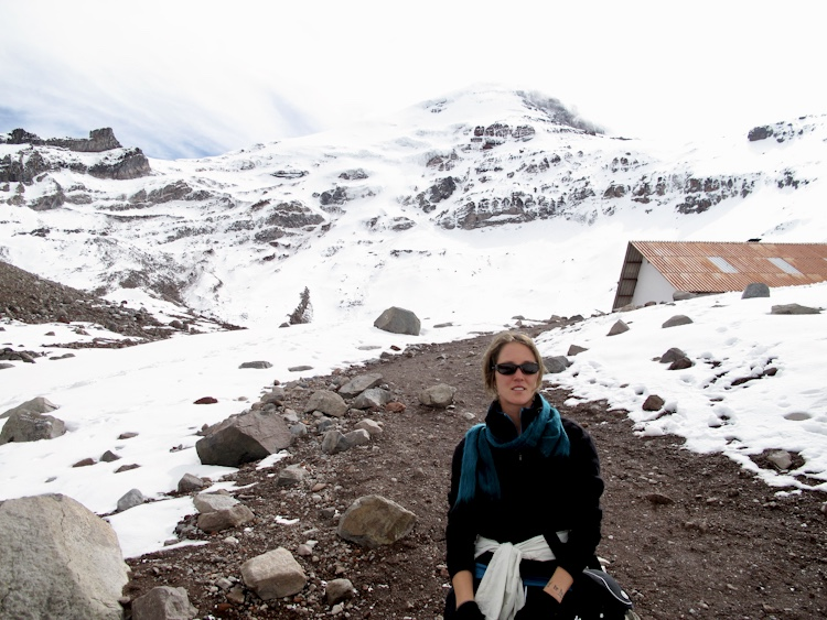 Biking Through Ecuador, Chimborazo