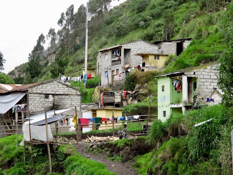 Biking Through Ecuador