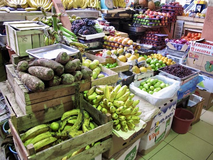 Cuenca Food Market Ecuador
