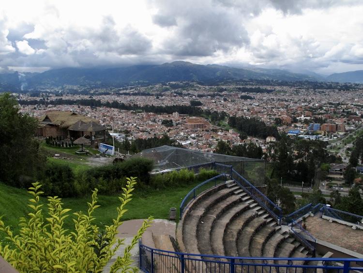 Biking Through Cuenca Ecuador