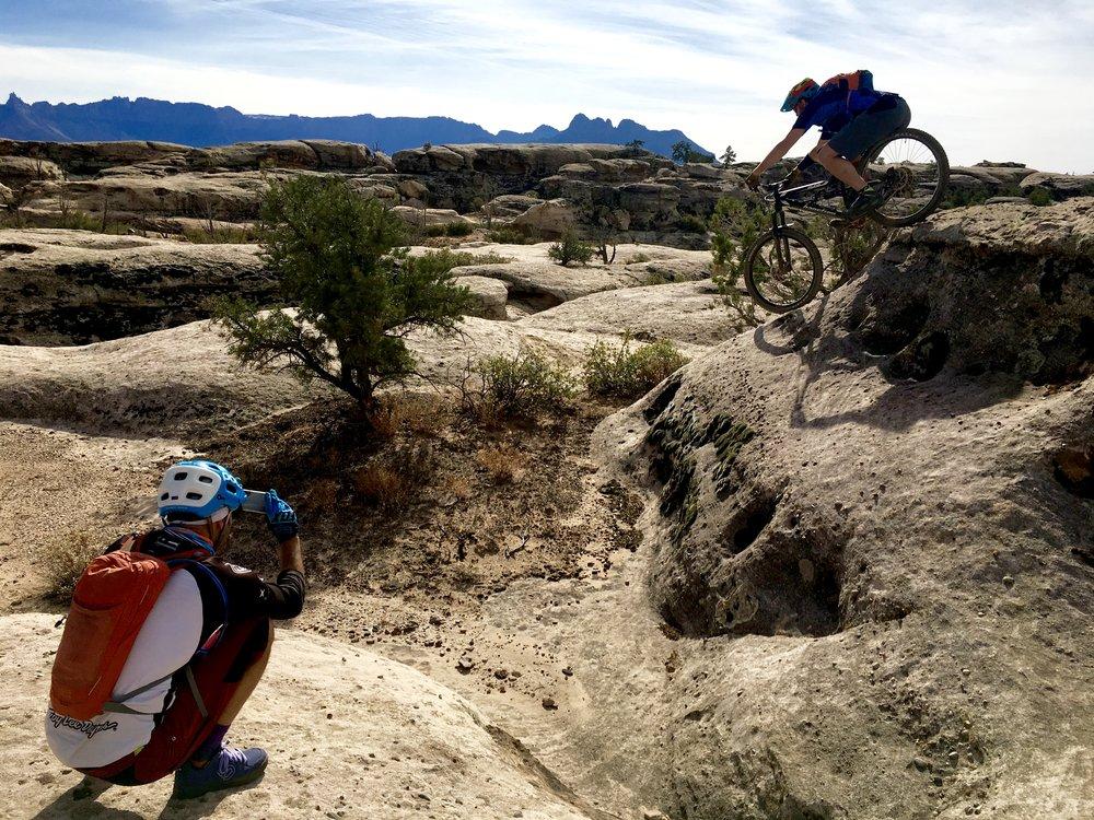 Mountain biking Hurricane Utah