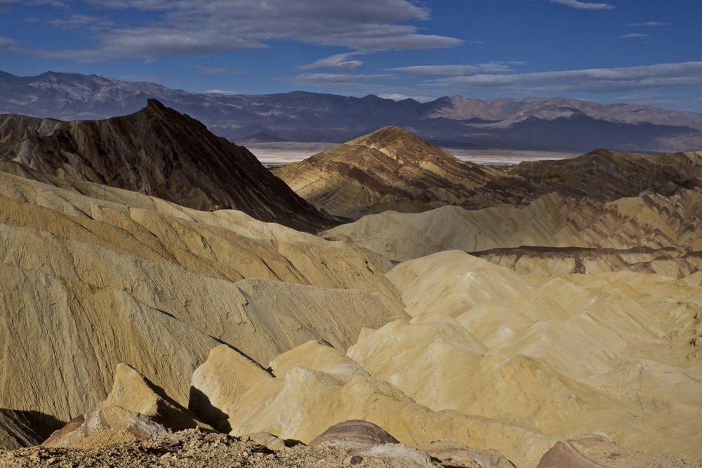Death Valley National Park, California. Golden Canyon