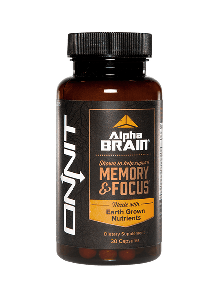 Alpha brain from Onnit