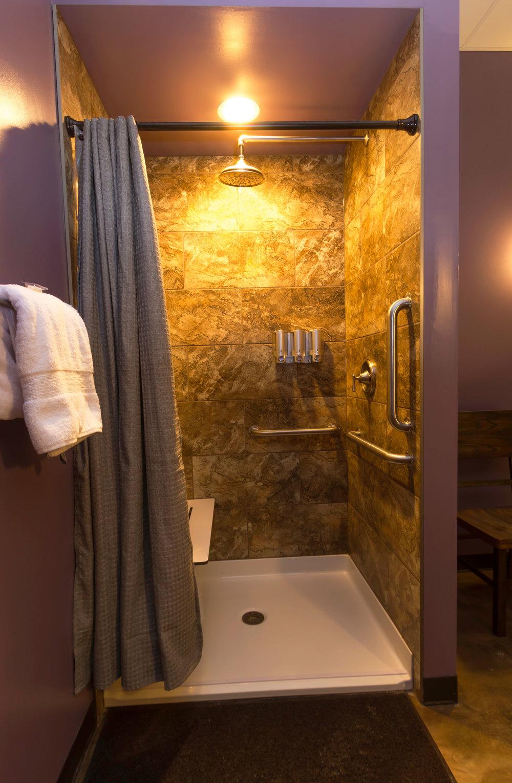 Float Pod Room #1 Shower