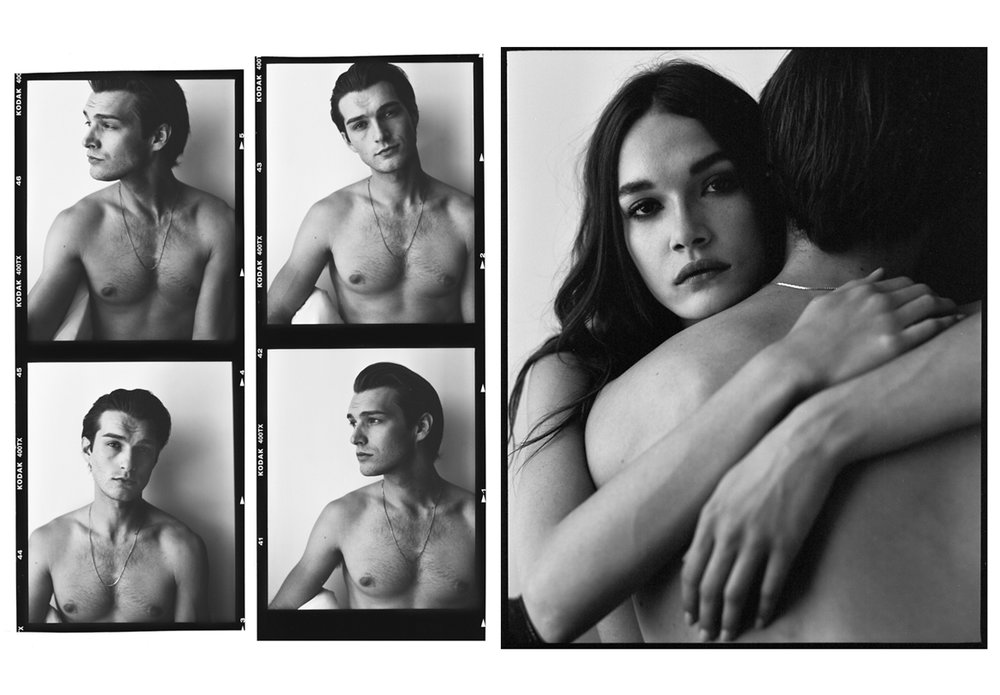 Jessica & George / Rouge Magazine