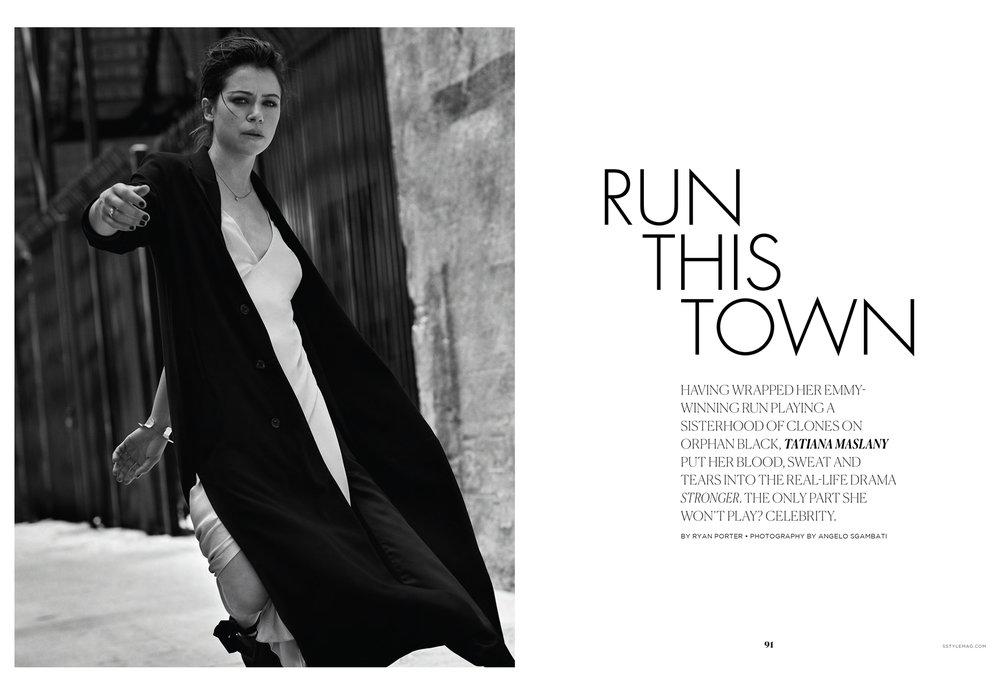 Tatiana Maslany / S Style Magazine