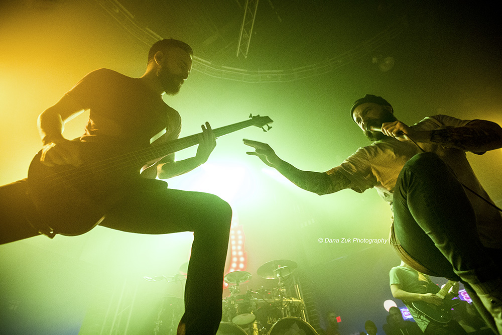 Dustin Davidson & Jake Luhrs - AUGUST BURNS RED