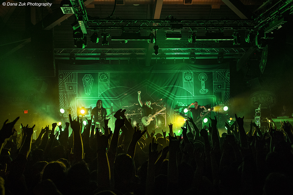 Trivium ft. Jared Dines @ The Ranch Roadhouse