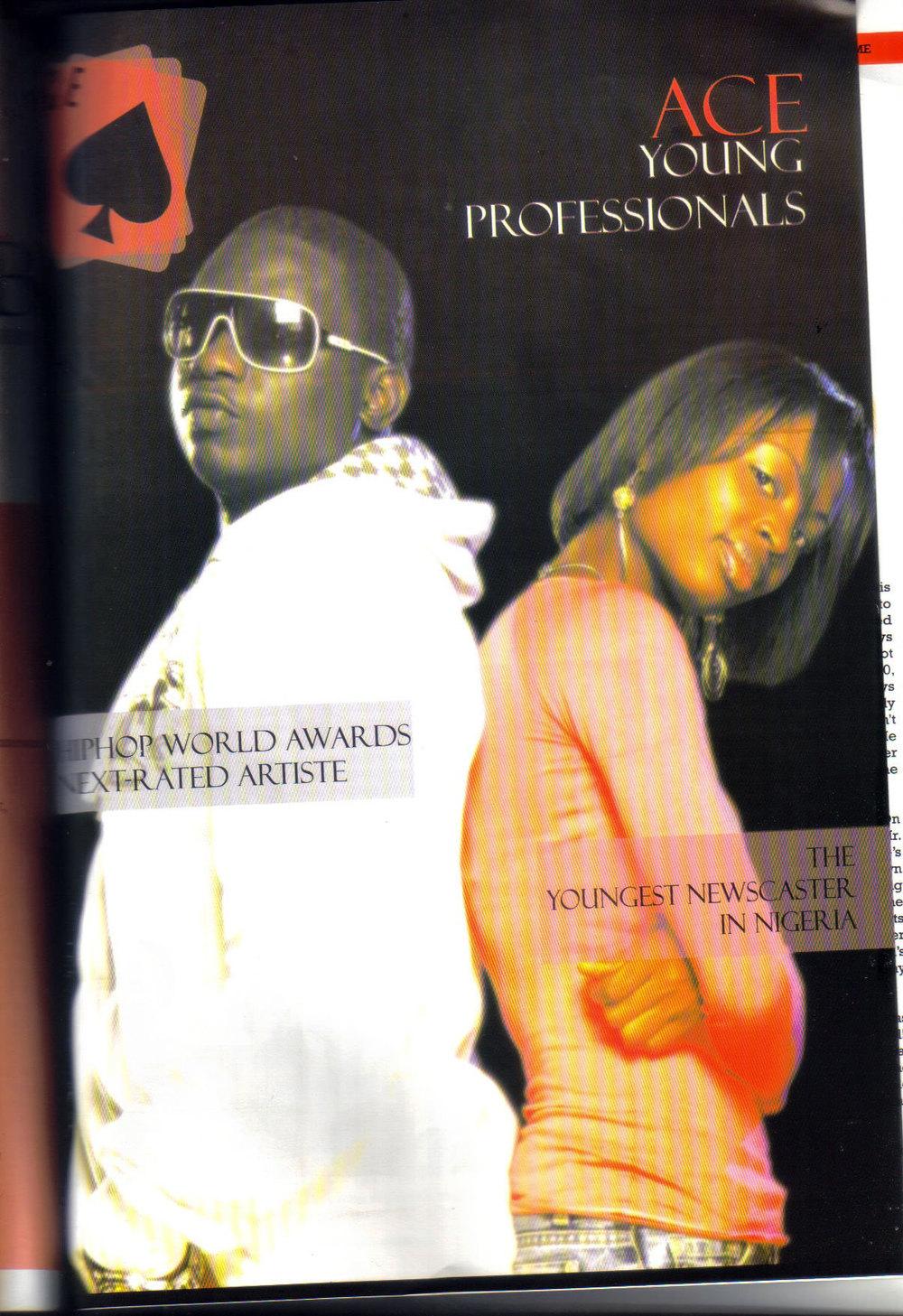Ace Magazine, 2008