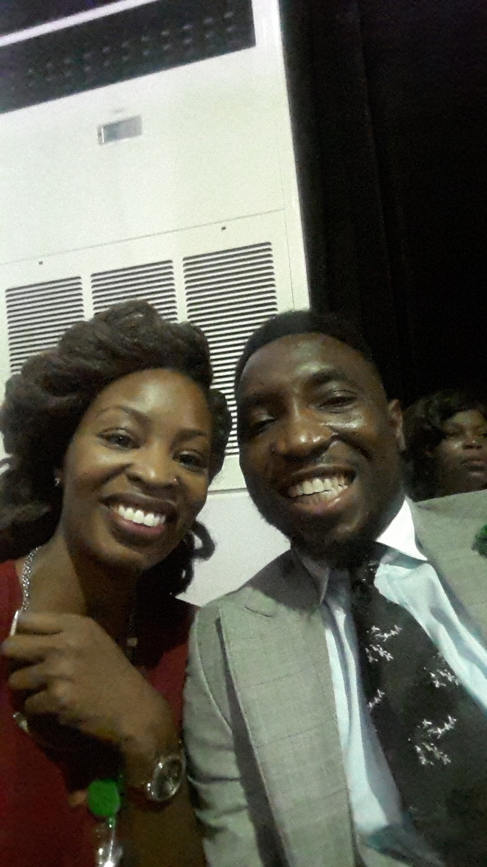 With Panelist, Timi Dakolo (Singer)