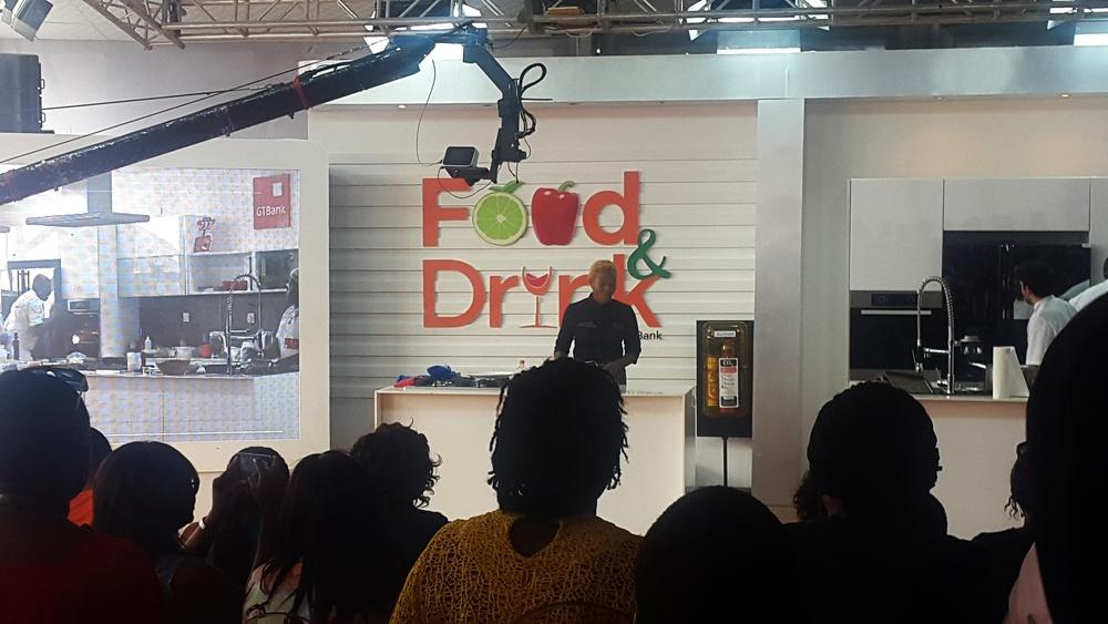 Chef Tiyan Alile of The Culinary Academy in Lagos, Nigeria