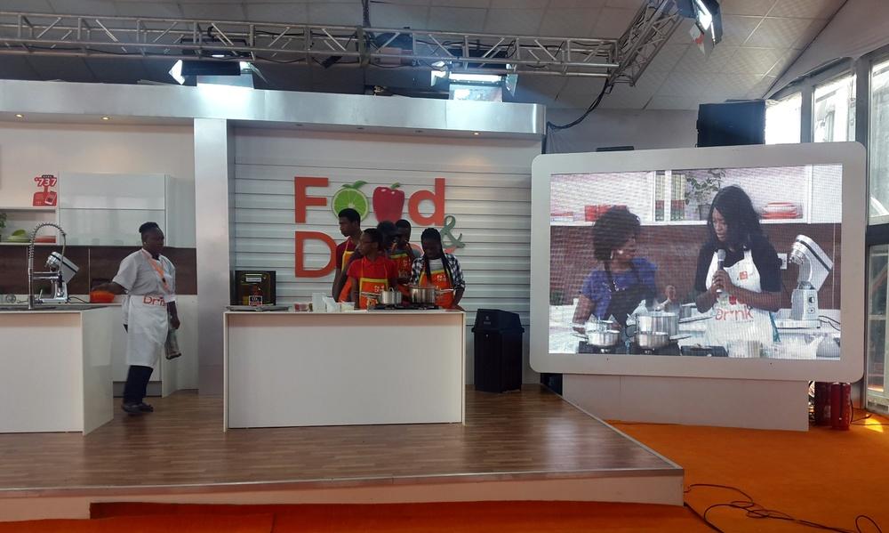 Chef Uzo Orimalade of Uzo's Food Labs Masterclass