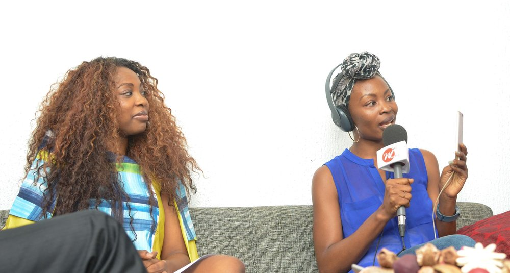 With Bolanle Olukanni on Above Whispers on Air on WFM 91.7FM
