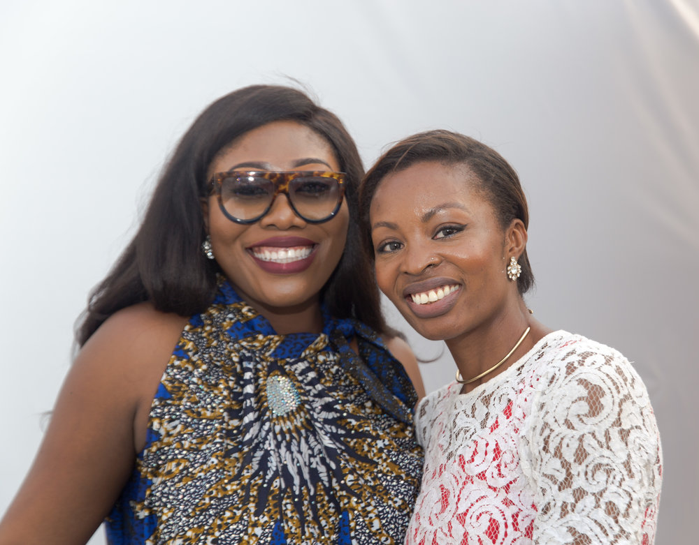 With my friend & #MotherlandMogul Gbemi Olateru-Olagbegi, CEO of Gbemisoke Shoes