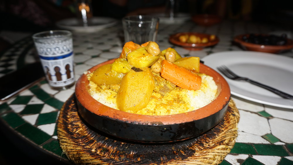 Tagines, the local cuisine