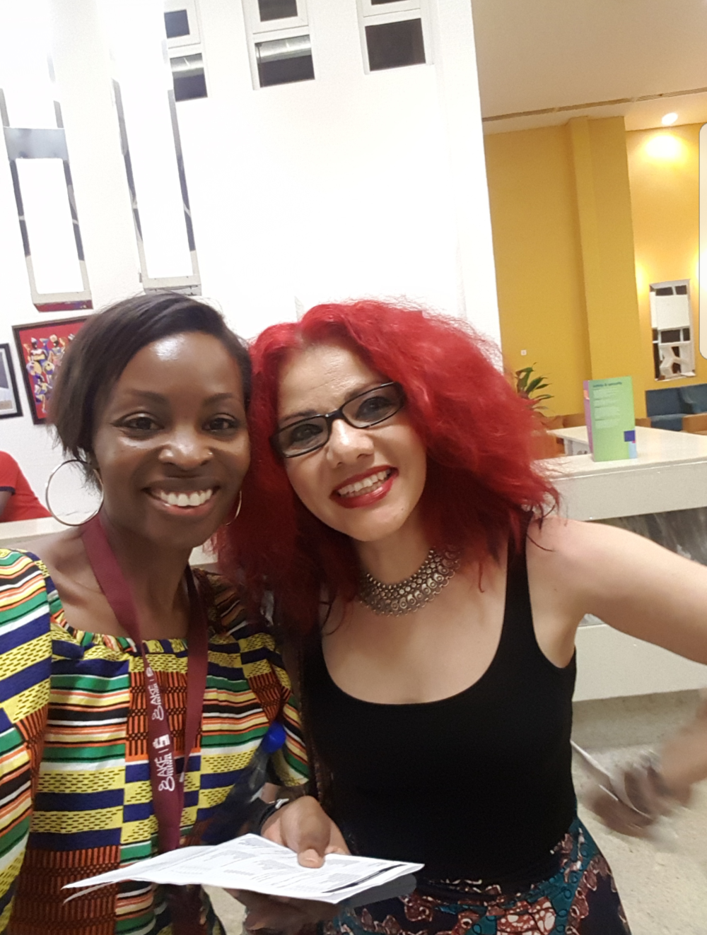 Me with Mona Eltahawy (fierce feminist and Egytpian-American author, journalist and commentator)