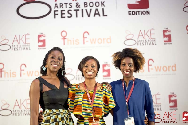 With the amazing Dayo Olopade and Alexis Okeowo