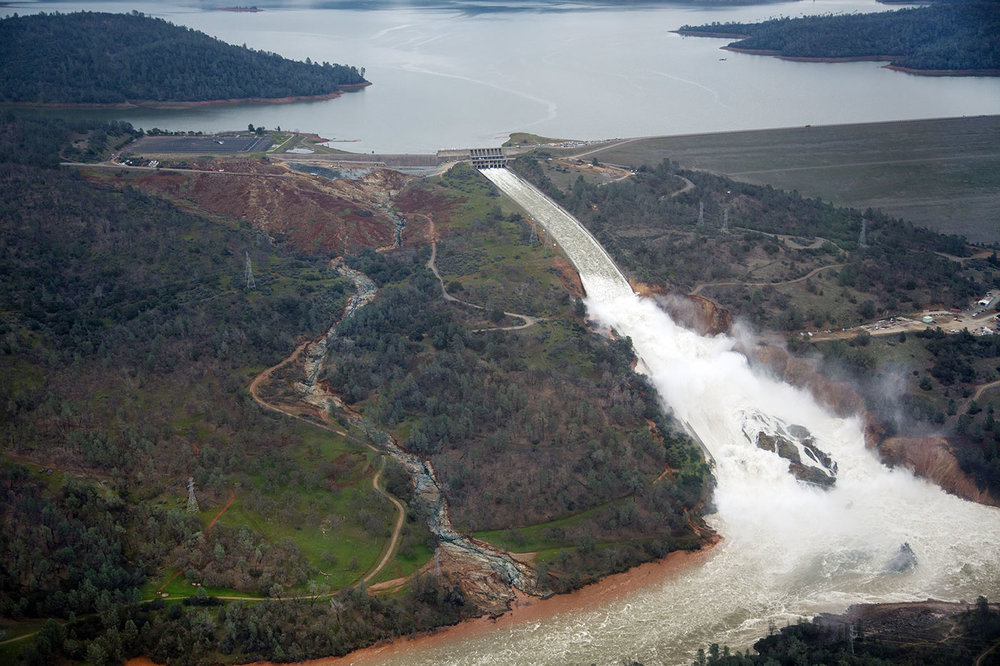 Used During Emergency at Nation's Tallest Dam    Oroville Dam Failure & Evacuation    Read More