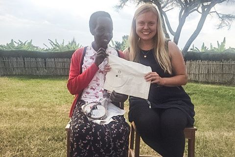 """I got to learn embroidery from Rwanda's cream of the crop - Ibaba Rwanda. Thanks VAYANDO for making this happen!"" #travelcuriously #rwanda #goodtimes #stitchandbitch"