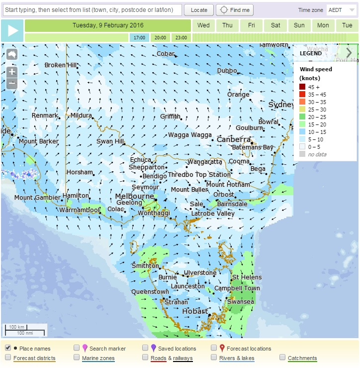 Click here to View weather observations for victoria with the boM Meteye