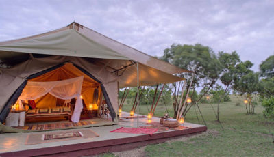 """The first luxury cultural tented safari in Barbados."""