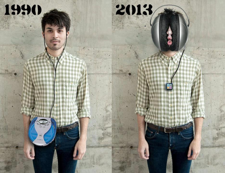 Audiobooks through the years.