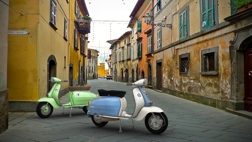 Italian-Lambrettas