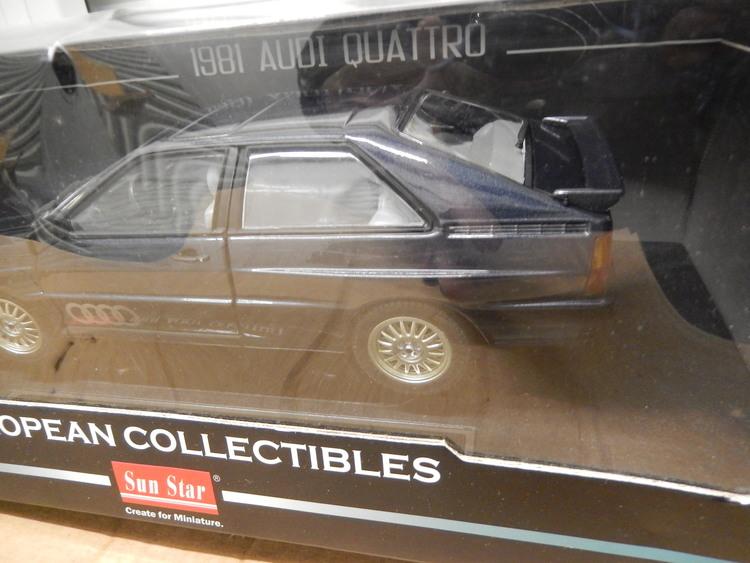 Audi Quattro 1881 Model By Sunstar Boxed 118 Scale CS DIECAST TUNING