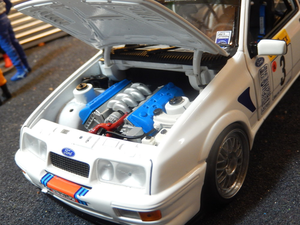 Ford Sierra Rs Cosworth V8 Modified Tuning Csdiecasttuning