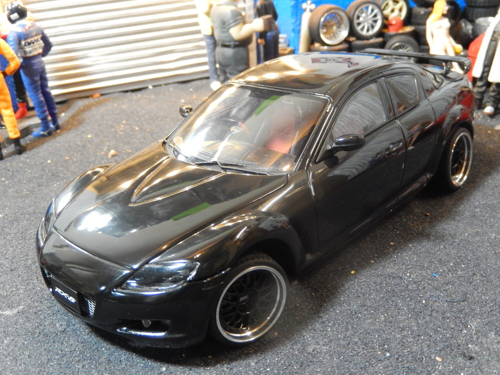 mazda rx8 black modified. mazda rx8 modified tuning rx8 black