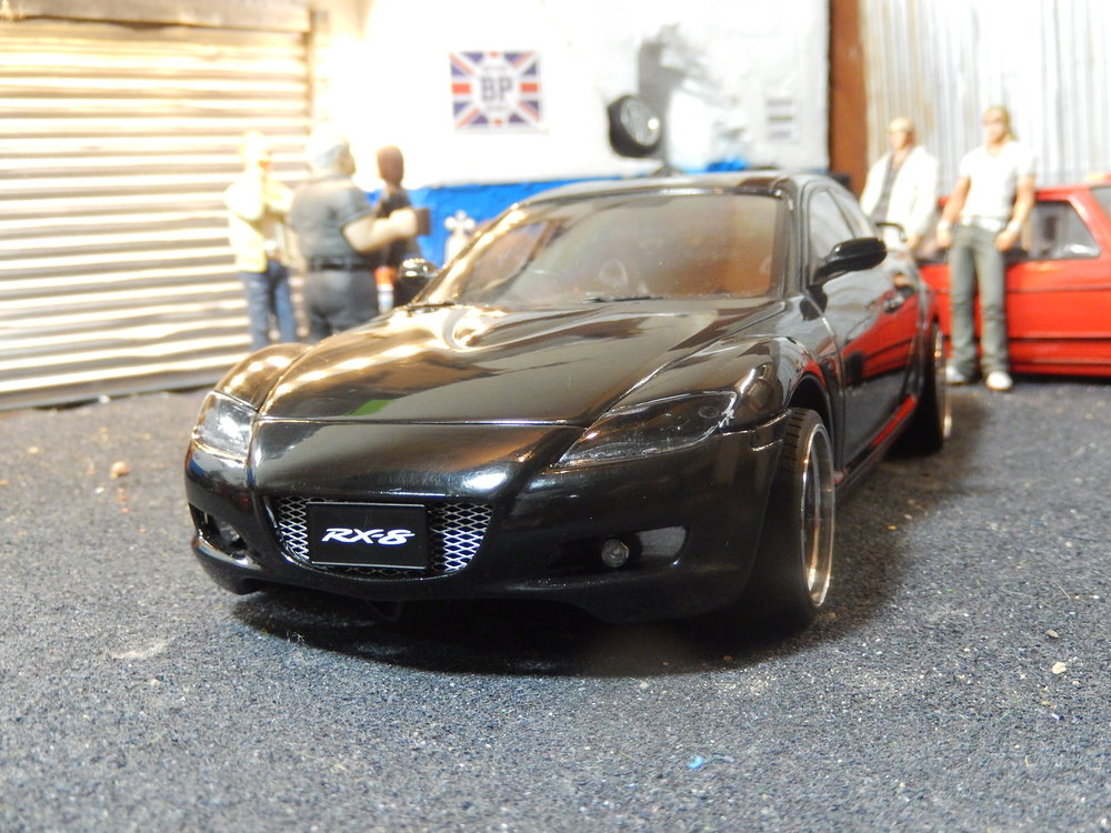 Modified Tuning Mazda Rx8 By Autoart 1 18 Scale Cs Diecast Tuning