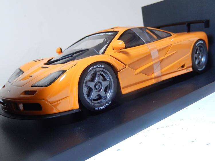 mclaren f1 gtr bmw long tail racing collectionut models 1:18