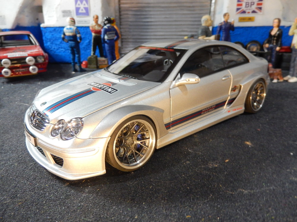 Kyosho Mercedes Benz Clk Dtm Amg Coupe 1 18 Scale Modified Tuning