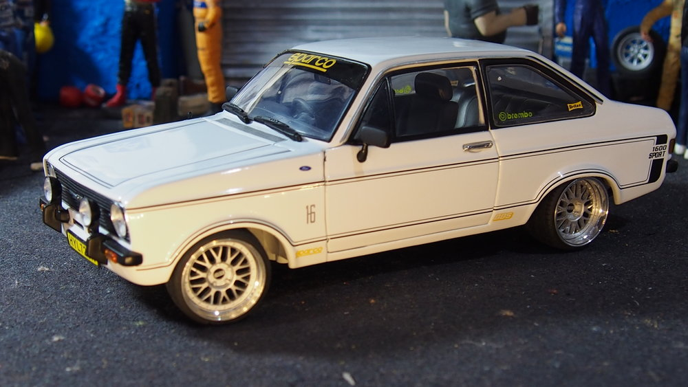 MK2 Ford Escort 1600 sports modified tuning 1:18 scale by sunstar ...