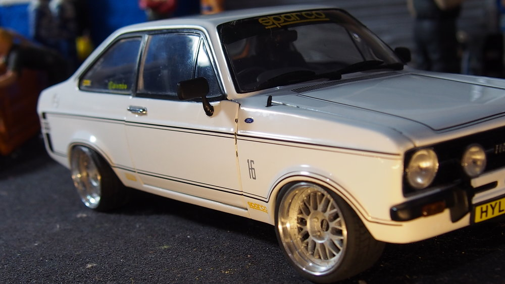 BMW M3 E30 >> MK2 Ford Escort 1600 sports modified tuning 1:18 scale by ...