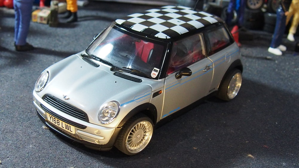 Bmw Mini Cooper Alpina By Kyosho Modified Tuning 118 Scale Cs
