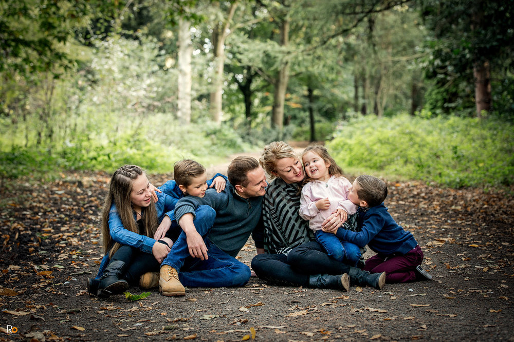 Family Photography Group Apley Woods
