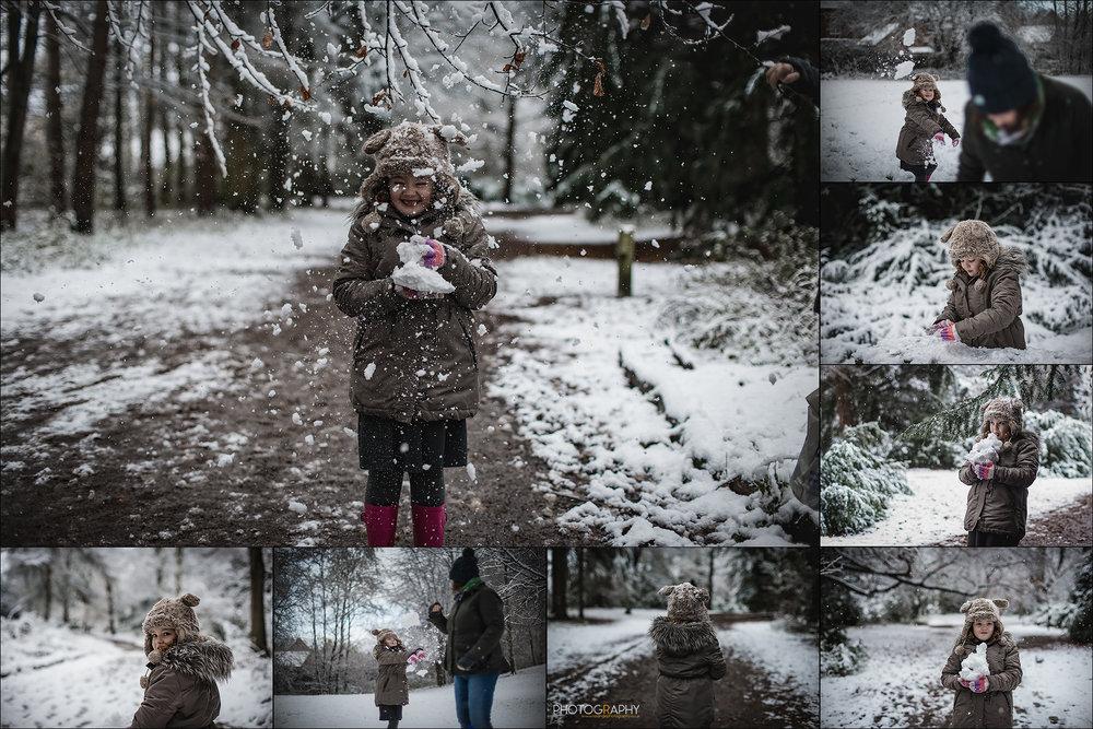 Snow In Telford | Apley Woods | R Orange Photography